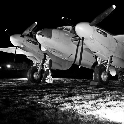 Warbird picture mosquito night ops