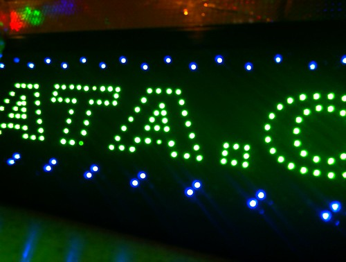 LED - Sign at the local PRATA shop