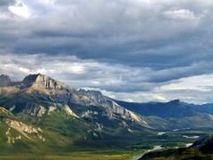 Brooks Range (Travis S.) Tags: mountains alaska clouds creek river f