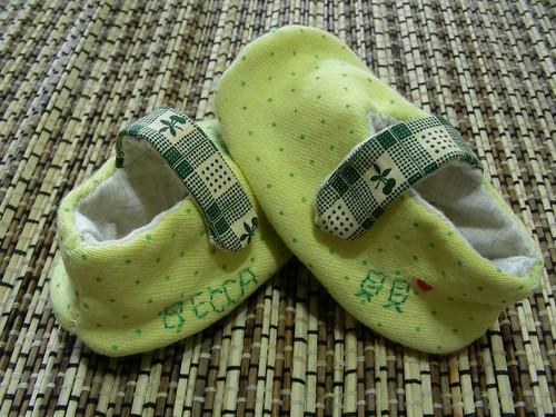 貝貝的小黃鞋