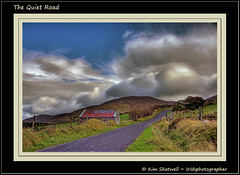 The Quiet Road (Irishphotographer) Tags: road ireland sky house beautiful clouds painting landscape lonely shack mournemountains kinkade beautifulireland irishphotographer imagesofireland kimshatwell breathtakingphotosofnature thequietroad beautifulirelandcalander wwwdoublevisionimageswebscom