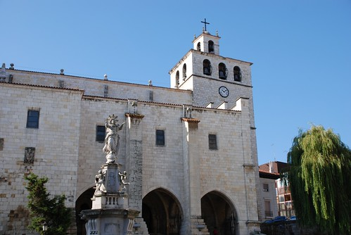 Cathedral of the city of Santander