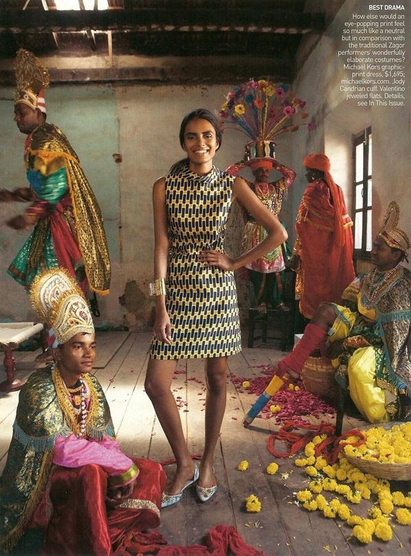 Lakshmi Menon - US Vogue May 2009 - 4