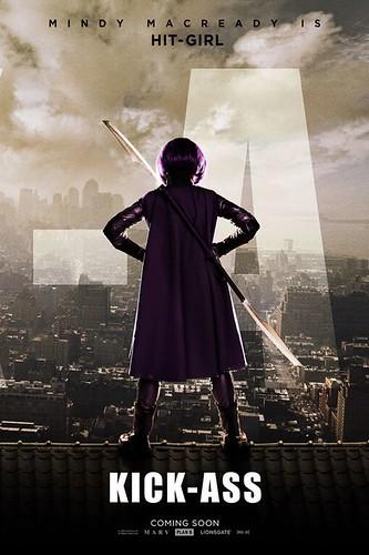 Kick-Ass Movie Poster Chloe Moretz