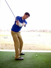 Camron swing sequence down the line in hitting booth