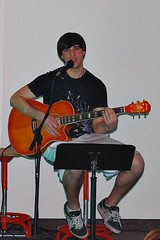 Cam Linares Performing at the Acoustic Coffee House Edit