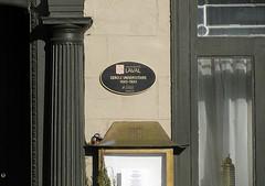 pigraphes des lieux d'origine de l'Universit Laval (CCNQ) Tags: plaque qubec histoire commission vieuxqubec plaques btiments universitlaval commmoration ccnq pigraphes commmoratives