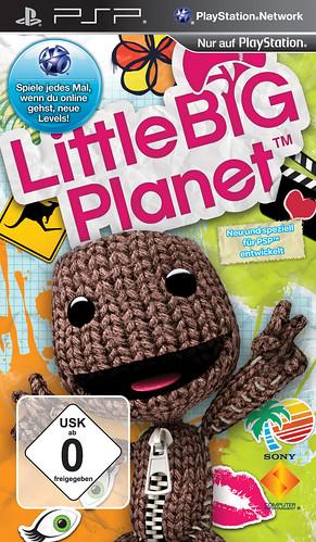 LittleBigPlanet PSP Packshot