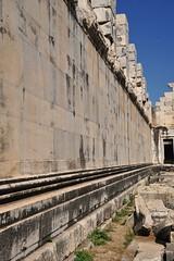 Inside Wall--smooth stonework (DSLEWIS) Tags: turkey temple apollo greektemple didyma templeofapollo