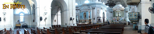 Taal Basilica of Saint Martin Panorama