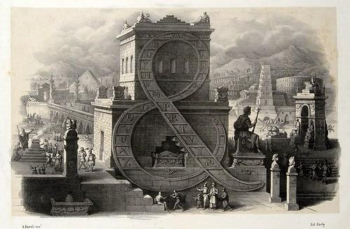 025-Letra-simbolo &-Alfabeto pittorico- Antonio Basoli 1839-© Accademia di Belle Arti di Bologna