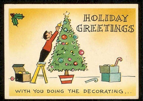 With you doing the decorating...