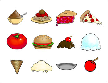 free Food Fight slot game symbols