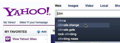 Yahoo & Climategate