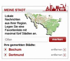 DerWesten: Meine Stadt