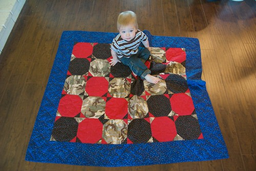 ryken and the star quilt