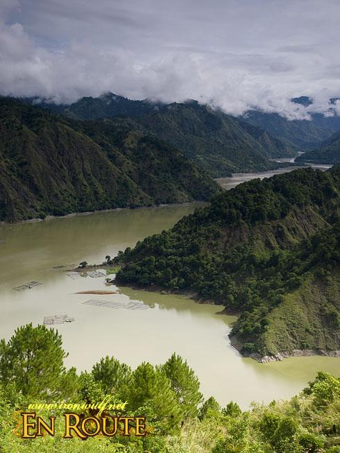 Ambuklao River and Mountains