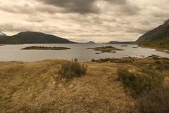 Baha Lapataia (Lumley_) Tags: beagle argentina america ushuaia mar canal nikon nubes vicente 1855mm fuego 2009 oceano tierra atlantico rubio baha lapataia d60