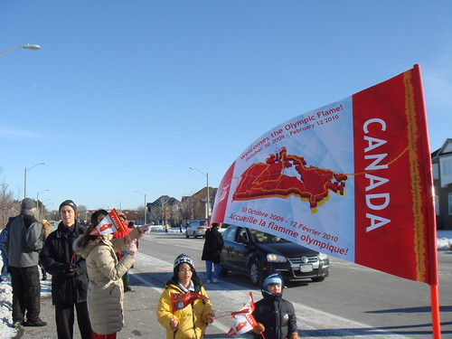 Olympics Torch Relay In Richmond Hill