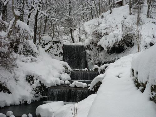 Cascate in inverno
