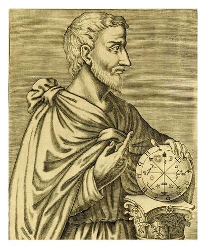 006-Pitagoras-Les vrais pourtraits et vies des hommes illustres grecz, latins et payens 1584-André Thevet