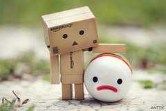 Cheer Up (Antty+) Tags: friends strange face up toys japanese singapore kiss sad mr clown mo forever cheer ang clubsnap kang seng galactic kio bishan danbo kuku danboard danboru antty antontang