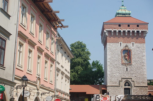 Floriańska Gate, Kraków