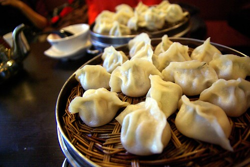 Dumplings at Qing Hua, Montreal