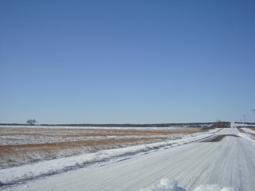 Oklahoma Highway, Christmas Day 2009