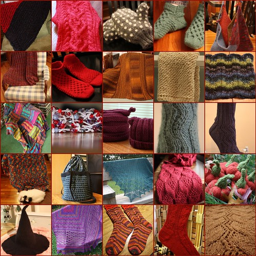 2009 Knitting Year in Review