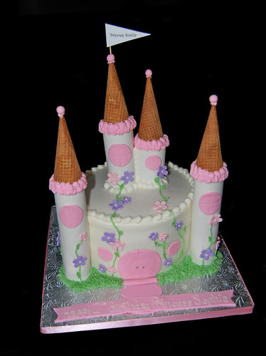 Princess Castle Birthday Cake Princess Sophia