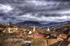 Passing clouds (AragianMarko) Tags: winter europe romania hdr oldcity banat oravita carasseverin mtiianinei
