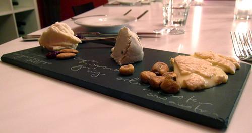 Cheese Plate: La Tur, Wasabi Capri, Edwin's Munster