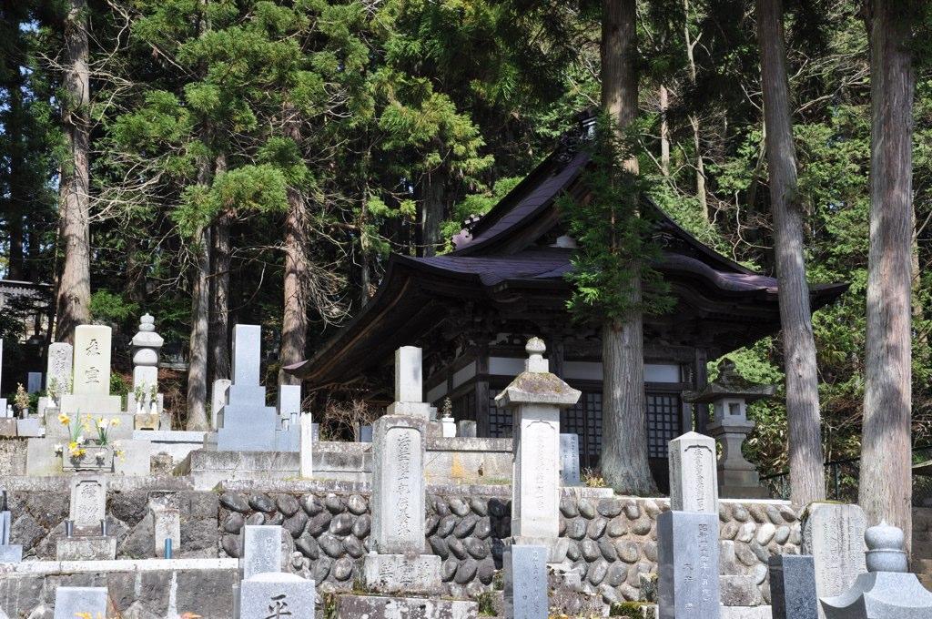 Cementerio en la ruta de los templos