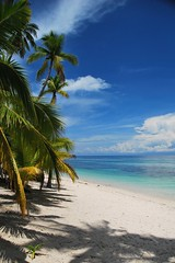 Beached (rutgerrrr) Tags: trees sea sky beach water clouds palm philipines siquijor tubod