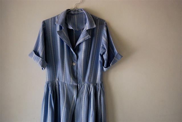 1950's shirt dress