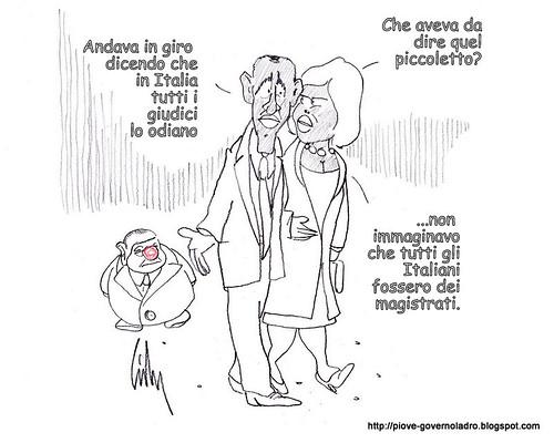 Il disturbatore del G8 by Livio Bonino