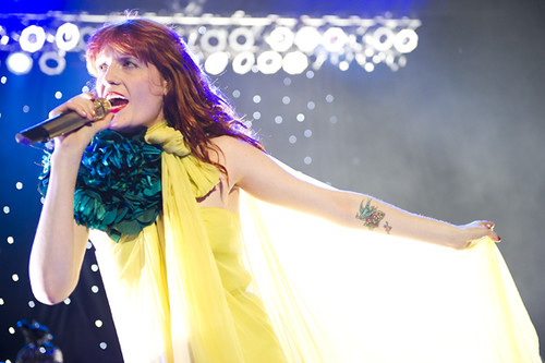 Florence and The Machine at the Greek Theatre