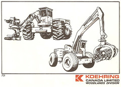 K4 (The Koehring Guy) Tags: wood tree mill truck log bush loader koehring
