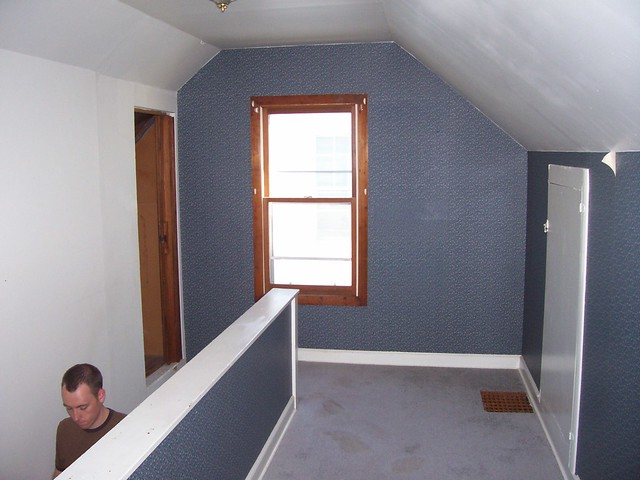upstairs bedroom stairs