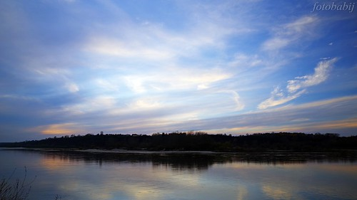 Kazimierski Park Krajobrazowy, Wisła jesienią  9