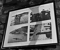 The surender of the German submarine U190 at Bay Bulls; May 12, 1945 (Will S.) Tags: mypics uboat submarine periscope stjohns newfoundlandandlabrador canada crowsnest wwii thecrowsnest navy naval