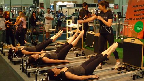 Pilates foi destaque na Wellness Rio 2009