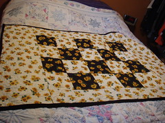 sunflower - throw size