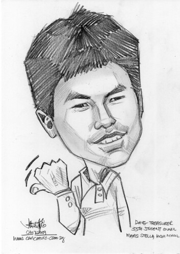 Caricature for Maris Stella High School -5