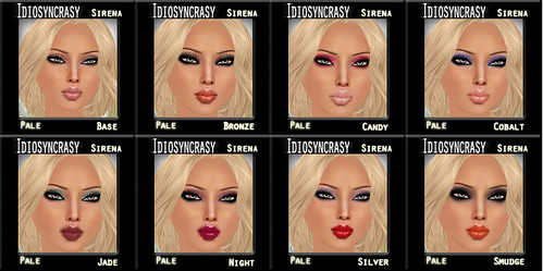sirena pale makeups