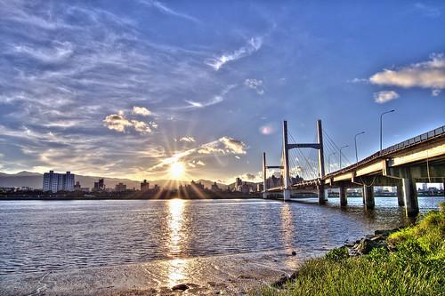 重陽橋日出