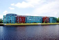 Riga Buildings close to Vansu Bridge #1 (docpap) Tags: buildings balticsea latvia polarizer riga pro1 hoya vansubridge
