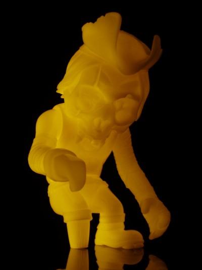 Orange Glow Skullcaptain