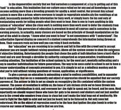 manifesto i wrote at 16